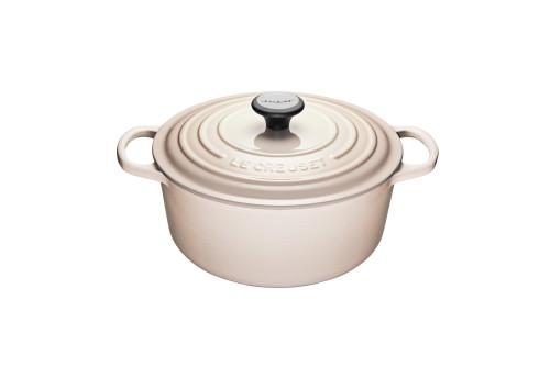 Le Creuset - 5.3 L (5.5 Qt) Meringue Round French Oven