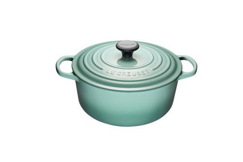 Le Creuset - 5.3 L (5.5 Qt) Sage Round French Oven