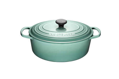 Le Creuset - 6.3 L (6.5 Qt) Sage Oval French Oven