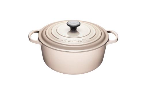 Le Creuset - 6.7 L (7 Qt) Meringue Round French Oven