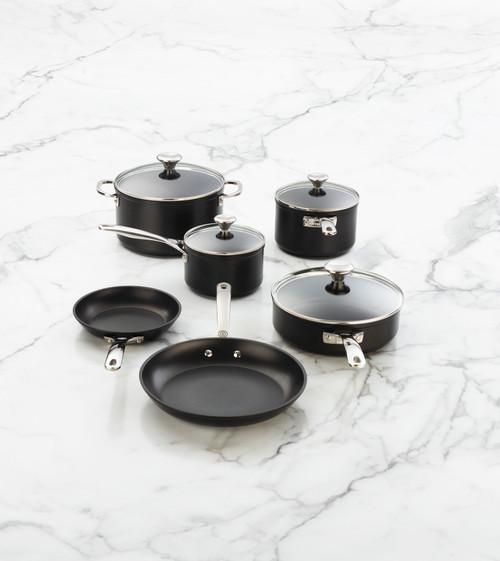 Le Creuset - 10 Piece Toughened Nonstick Cookware Set