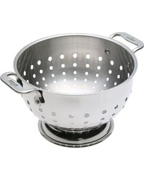 All Clad - 3 Qt Stainless Steel Colander - 5603C