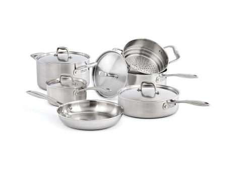 Zwilling J.A. Henckels - Sol II 10-Piece Cookware Set
