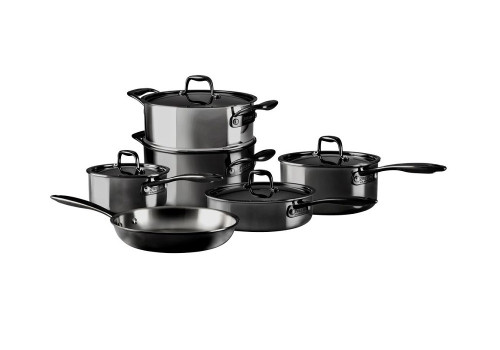 Zwilling J.A. Henckels - Nero 10-Piece Cookware Set