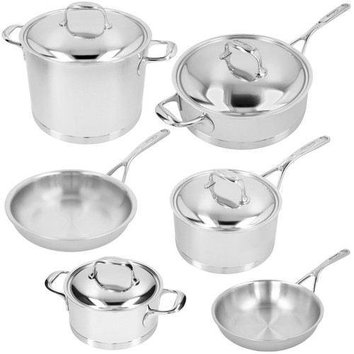 Demeyere - Atlantis 10-Piece Cookware Set