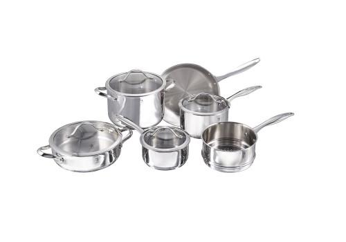 Henckels International - 10-Piece Aragon Cookware Set
