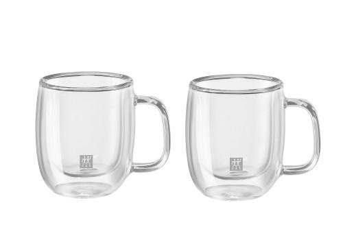 Zwilling J.A. Henckels - Sorrento 2-Piece 134 ML Espresso Glass Set
