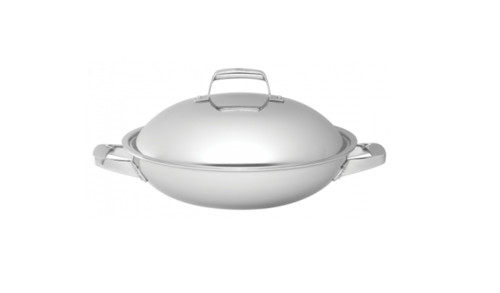 """Zwilling J.A. Henckels - Truclad 13"""" Wok With Lid"""