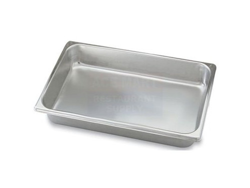 "Browne -  Full Size Insert Pan 4"" Deep - 5781104"
