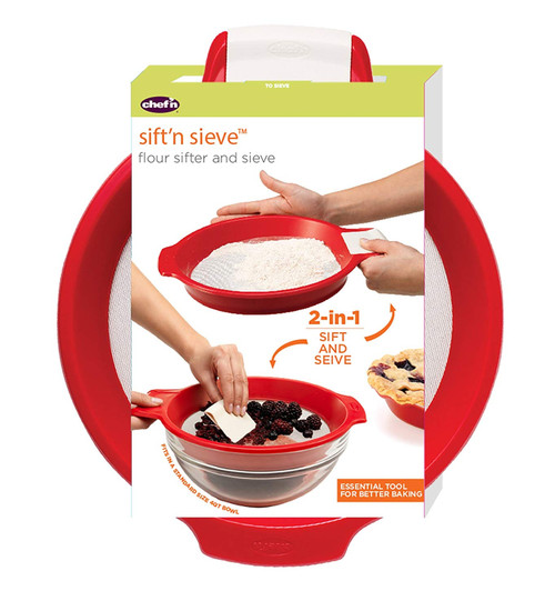 Danica Imports - Sift'n Sieve Flour Sifter - 103550119
