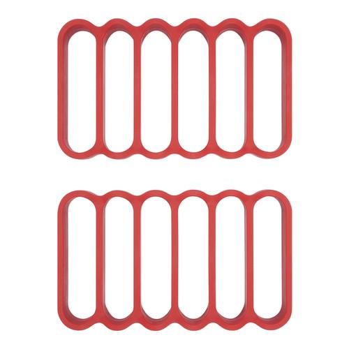 Oxo - Silicone Roasting Rack - Set of 2