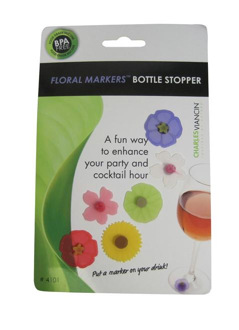 Charles Viancin - Floral Drink Markers