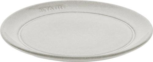 "Staub - 6"" (15cm) White Truffle Appetizer Plate"
