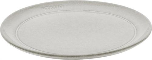 "Staub - 8"" (20cm) White Truffle Side Plate"