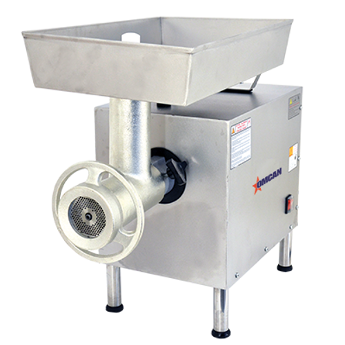 Omcan - #22 Moderate-Duty Meat Grinder With 2 Hp Motor - 11067