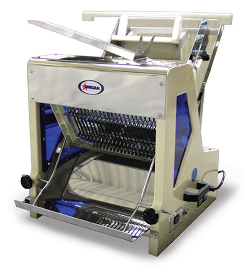 "Omcan - Bread Slicer With 0.25 Hp Motor And 1/2"" Size - 44247"