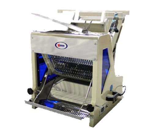 "Omcan - Bread Slicer With 0.25 Hp Motor And 7/16"" Size - 44250"