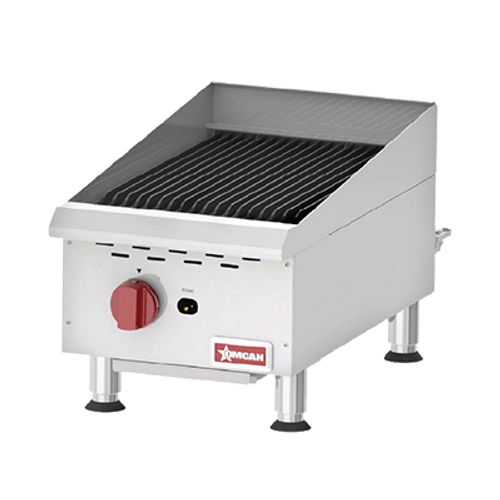 Omcan - Countertop Radiant Gas Char-Broiler With 1 Burner - 43736