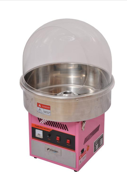 """Omcan - Countertop Candy Floss Machine With 20.5"""" Bowl Size - 41336"""
