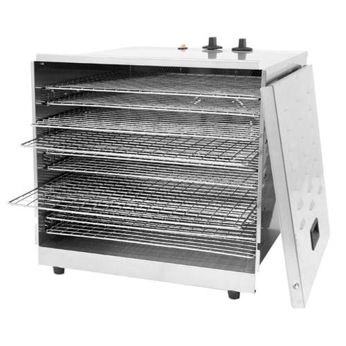 Omcan - Stainless Steel Food Dehydrator With 10 Racks - 43222
