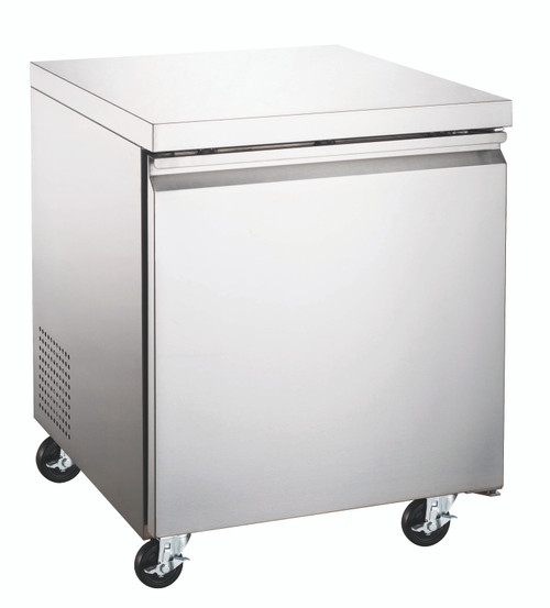 """Omcan - 27"""" Under Counter Freezer With 6.3 Cu. Ft. - 50053"""