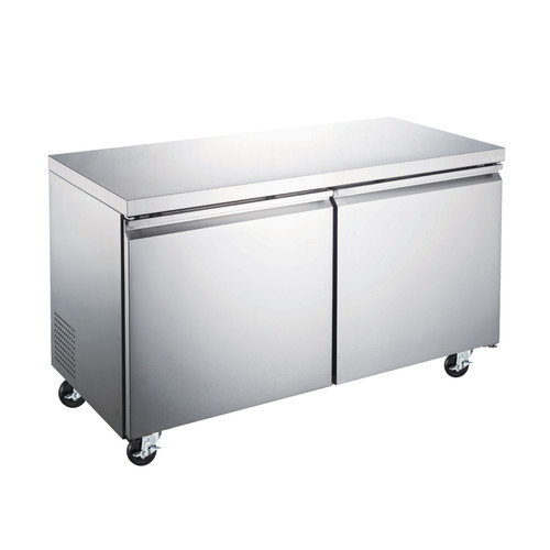 """Omcan - 47"""" Under Counter Freezer With 12 Cu. Ft. - 50055"""