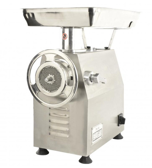 Omcan - # 32 Heavy-Duty Fan-Cooled Counter Style Meat Grinder With 2 Hp With Microswitch - 43628