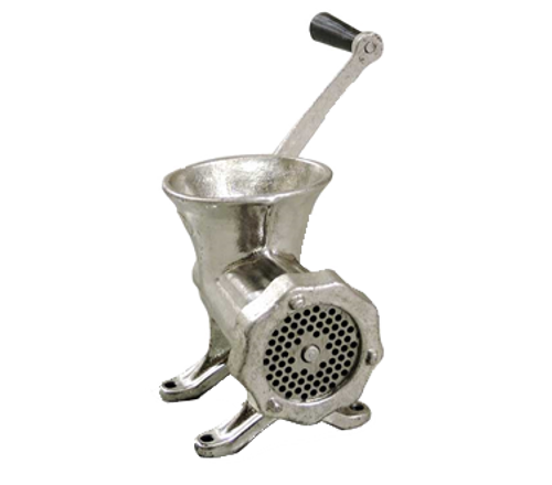 Omcan - #12 Cast Iron Manual Hand Grinder - 23541