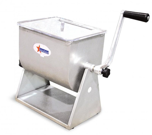 Omcan - Stainless Steel Manual Tilting Mixer With 17 -Lb / 4.2-Gallon Tank Capacity - 19202