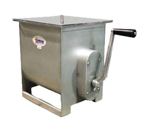 Omcan - Stainless Steel Manual Non-Tilting Mixer With 44-Lb / 7-Gallon Tank Capacity - 13156