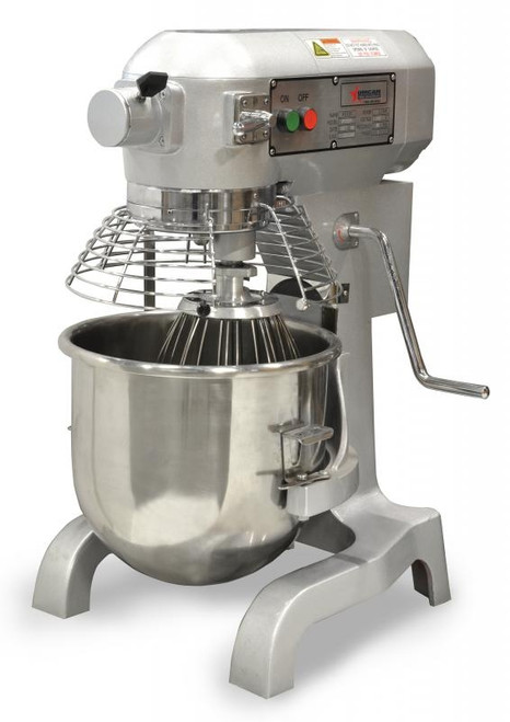 Omcan - Etl Certified 20-Qt Baking Mixer With Guard - 20441