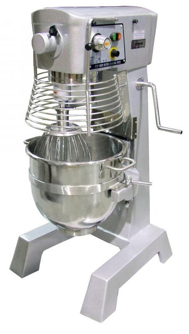 Omcan - 30-Qt Baking Mixer With Guard And Timer - 17836