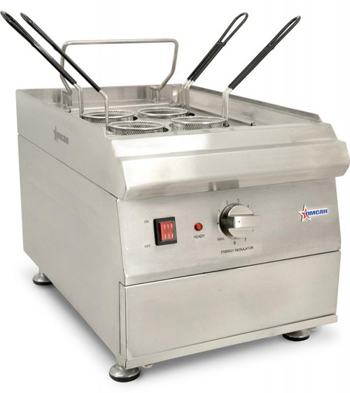 Omcan - Single Tank Pasta Cooker With 9L Capacity - 41882