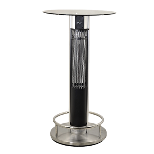 Omcan - Patio Heater With Table And Remote Control - 43123