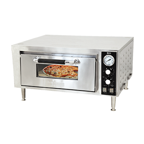 Omcan - Countertop Single Quartz Pizza Oven - 24210