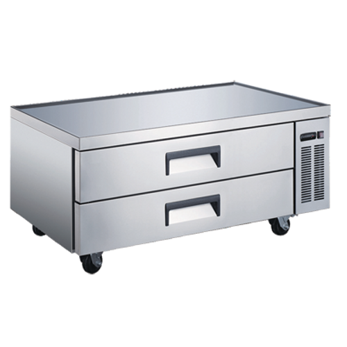 """Omcan - 52"""" Refrigerated Chef Base - 50071"""