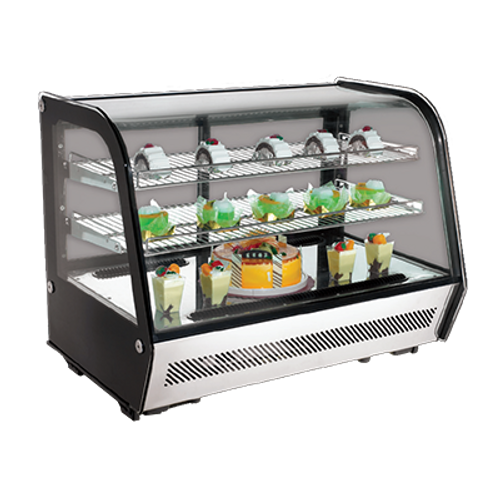 Omcan - 160 L Countertop Refrigerated Display - 27157