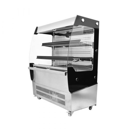 Omcan - Open Refrigerated Floor Display Case With 200 L Capacity - 31809