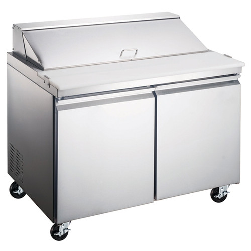 """Omcan - 47"""" Refrigerated Prep Table - 50046"""