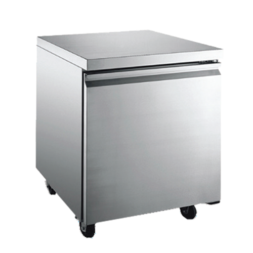 """Omcan - 27"""" Under Counter Refrigerator With 5.5 Cu. Ft. Capacity - 27202"""