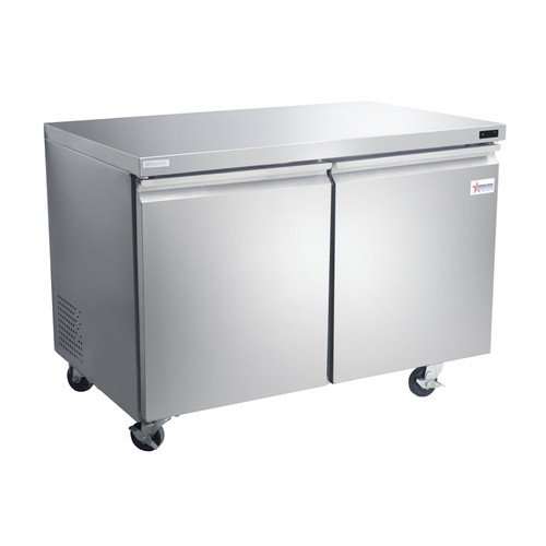 """Omcan - 47"""" Under Counter Refrigeration With 12 Cu.Ft. - 50056"""