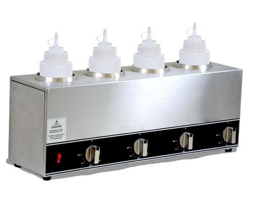 Omcan - Quadruple Bottle Sauce Warmer - 44180