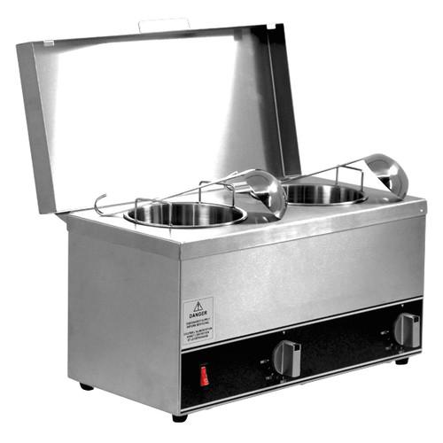 Omcan - Double Sauce Pot Warmer - 44182