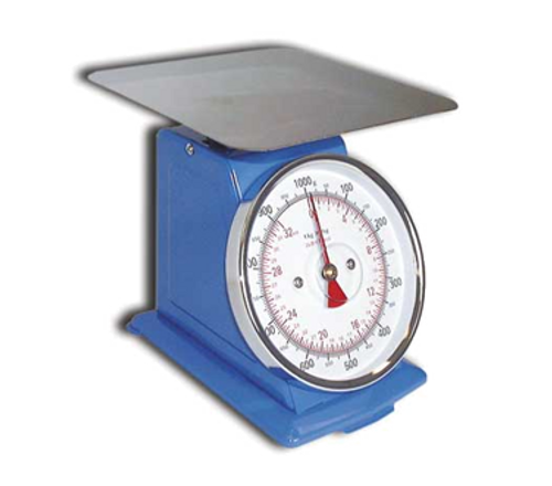 Omcan - Dial Spring Scale With 55 Lbs. Capacity - 10849