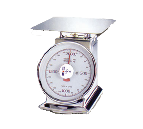 Omcan - Dial Spring Scale With 11 Lbs. Capacity - 10855