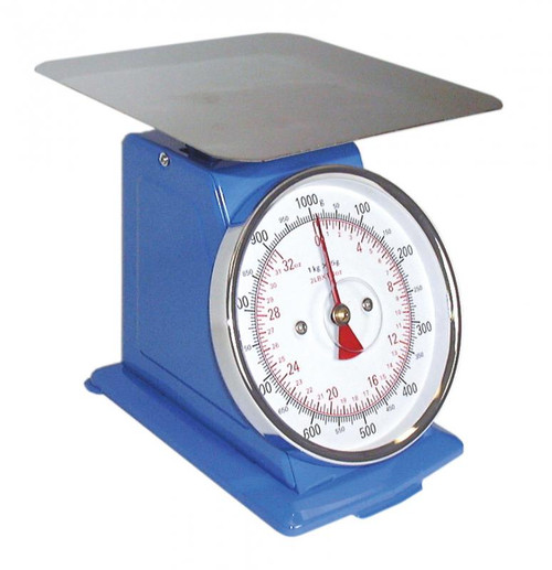 Omcan - Dial Spring Scale With 33 Lbs. Capacity - 10846