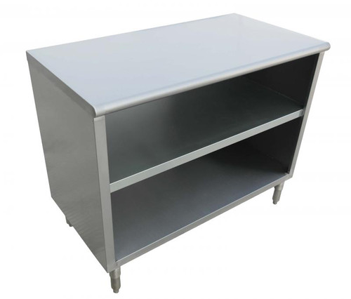 """Omcan - 15"""" X 72"""" X 36"""" 18-Gauge Stainless Steel Dish Cabinet - 38031"""