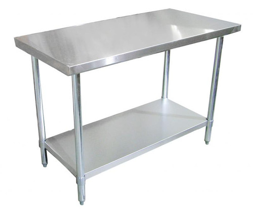 """Omcan - 24"""" X 18"""" Stainless Steel Work Table - 43182"""