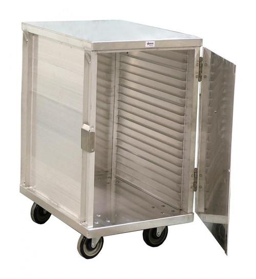 Omcan - 20-Tier Enclosed Aluminum Cabinet - 23775