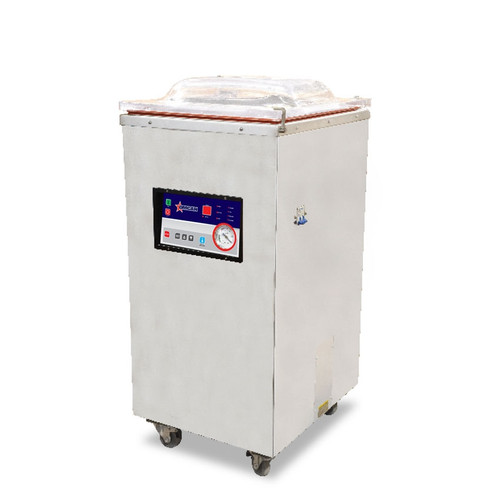 Omcan - Floor Model Heavy-Duty Vacuum Packaging Machine With 1.2 Hp And Single Seal Bar - 24083
